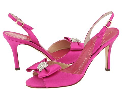 Cool Pink Wedding Shoes Design With Soft Color