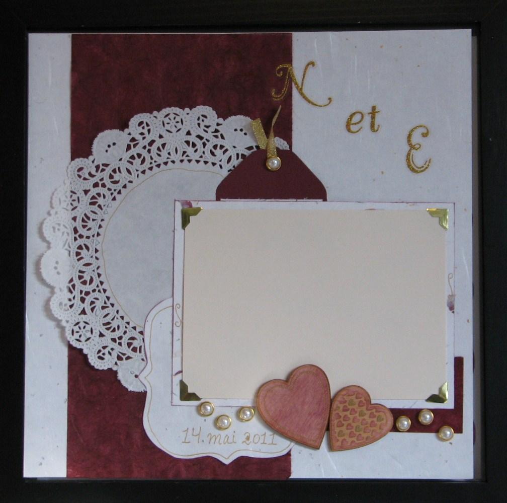 sketch scrapbooking mariage