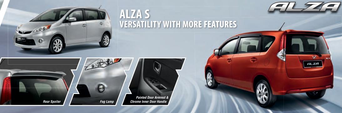 Harga Dan Spesifikasi Alza S Series