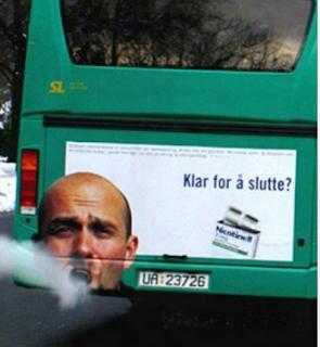smešne autobuske reklame pušenje je štetno