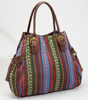 Southwestern Woven Purse
