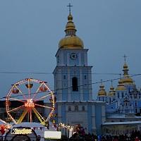Главная ёлка Киева 2017 и новогодний городок