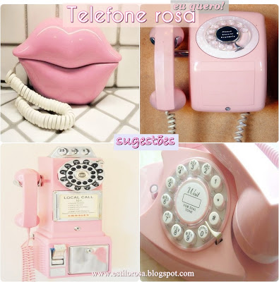 telefone pink
