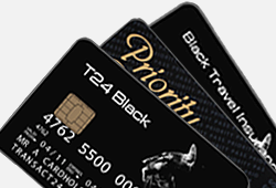 VISA prepaid T24 Black Card