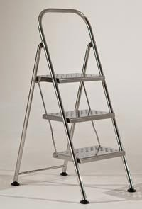 Stainless steel ladder steps or stainless steel ladder rack