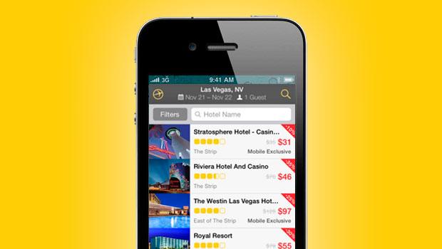 App Expedia Hoteles y vuelos