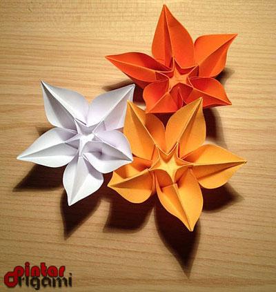Cara Buat Origami Naga