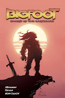 Bigfoot Sword Earthman comic book barbarian graphic novel cover image