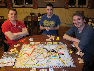 Ticket To Ride: Europe - The players