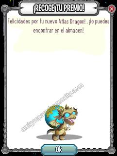 imagen del dragon atlas de la isla olympus