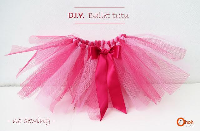 DIY Ballet Tutu