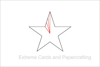 how to make pleated star diagram