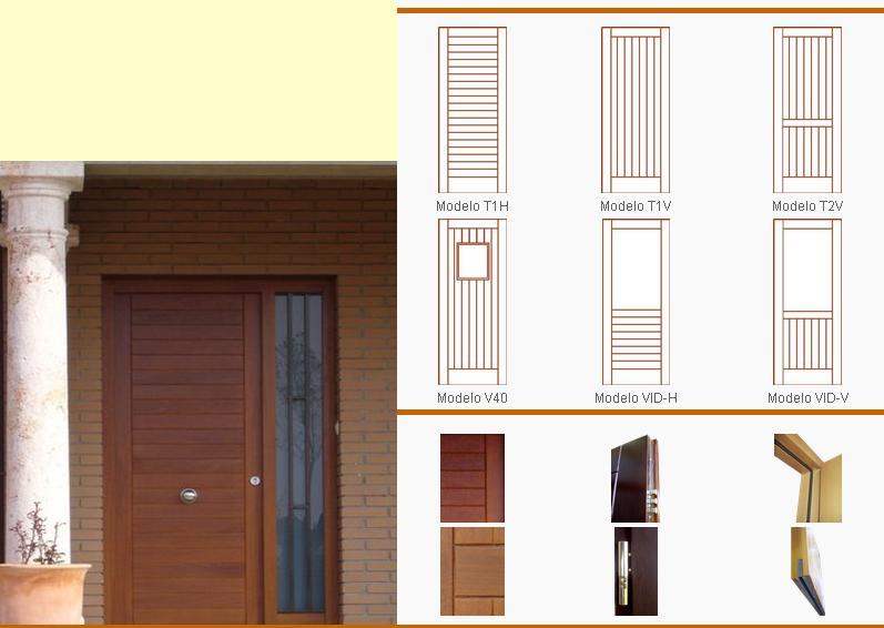 Puertas de interior y exterior de calidad cerramientos for Puertas de interior y exterior