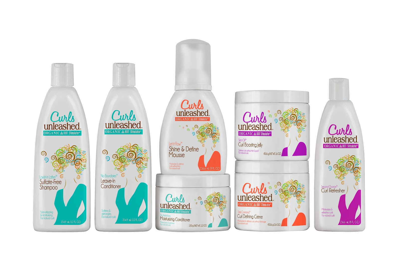 Curls Unleashed Natural Hair Products