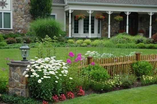 Fence designs for front yards ayanahouse for Front garden fence designs