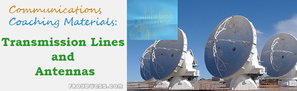 Coaching Materials in Transmission Lines and Antennas