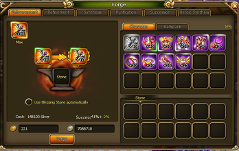 Lunaria Story Equipment Enhancing