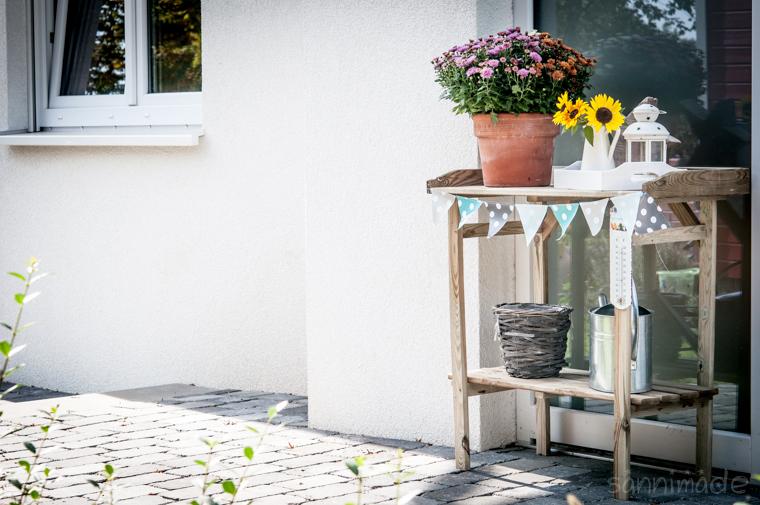 pagodenzelt mit wimpelkette dekorieren raum und. Black Bedroom Furniture Sets. Home Design Ideas