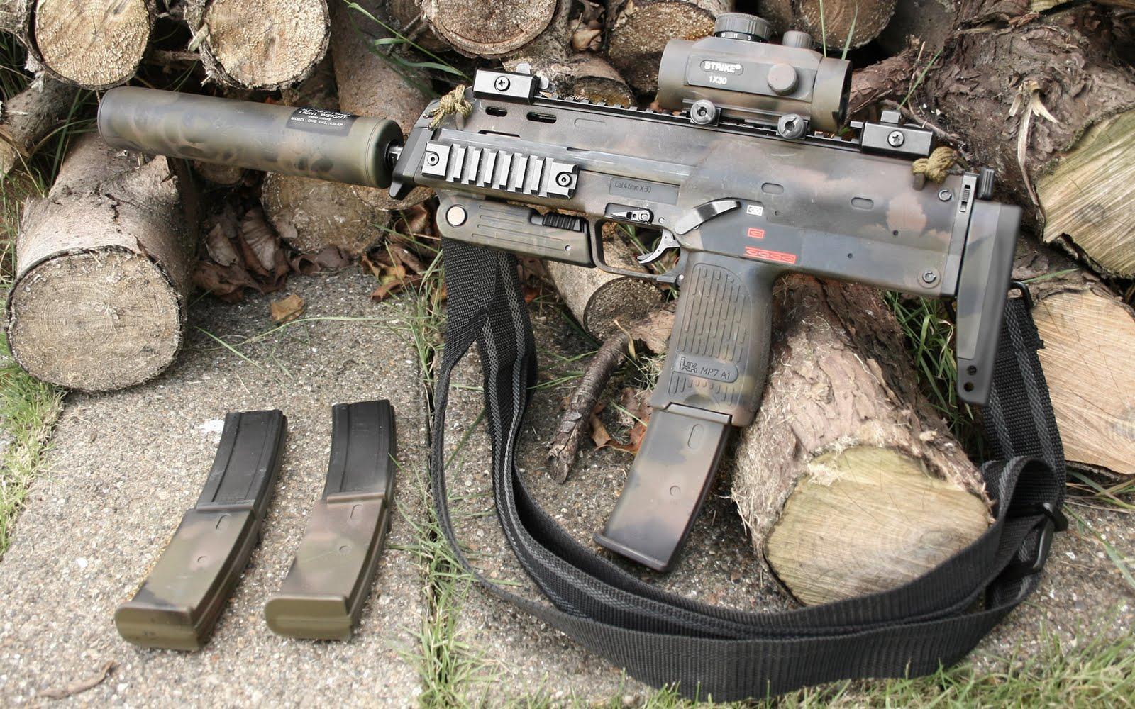 Heckler - Koch HK MP7A1 submachine gun ...