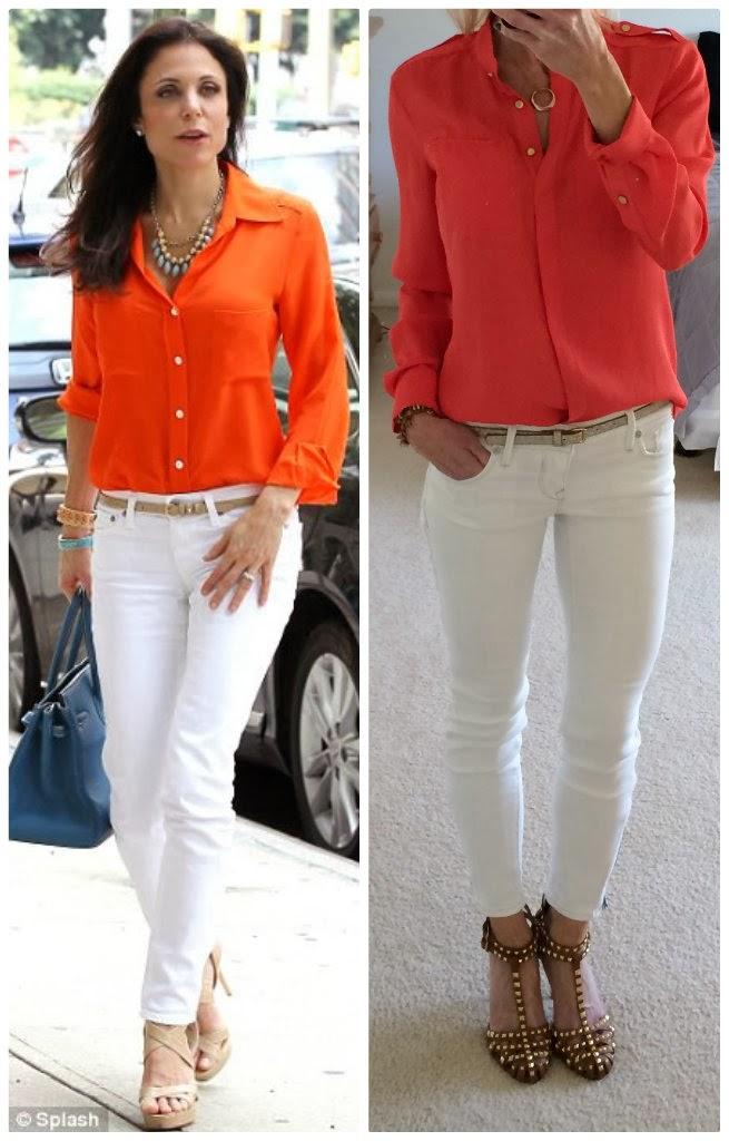 Express ankle zip jean legging, bethenny frankel outfit copycat, duplicate