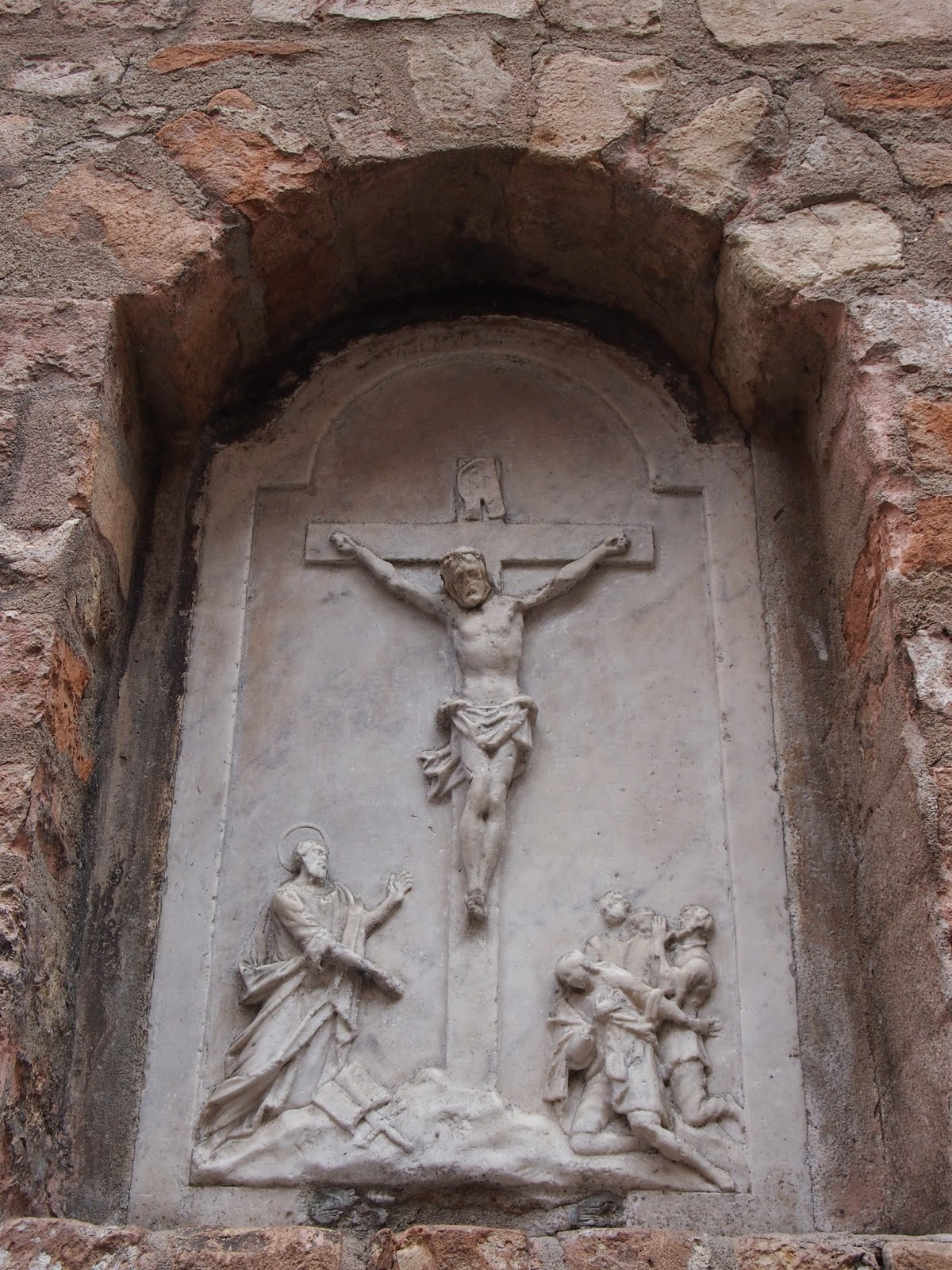 Jesus on the cross in Italy