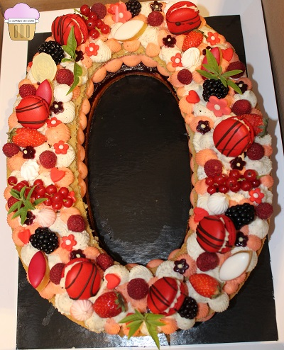 Un NUMBER CAKE ultra gourmand