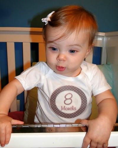 Une jolie Photo bébé 8 mois