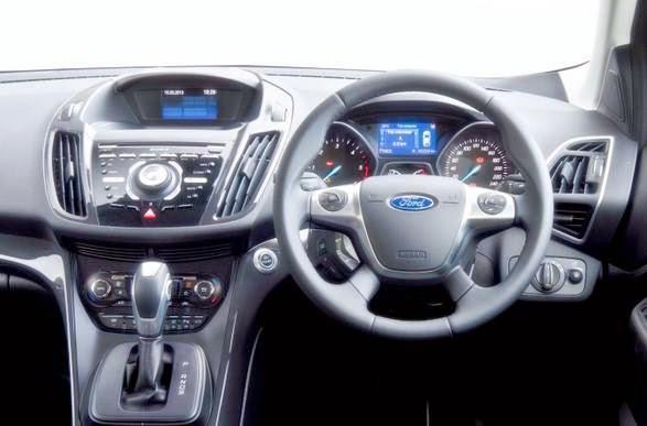 Ford Kuga Titanium X Sport Interior