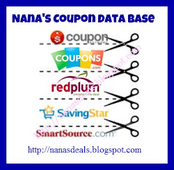Coupon Data Base ( Printables)