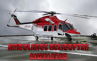 Screenshots of the Ambulance helicopter simulator for Android tablet, phone.