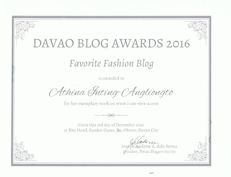 DAVAO BLOG AWARDS 2016
