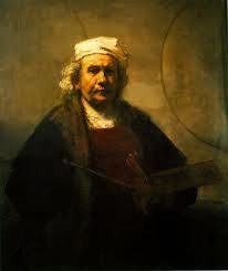 rembrandt, oil painting, portrait, old masters