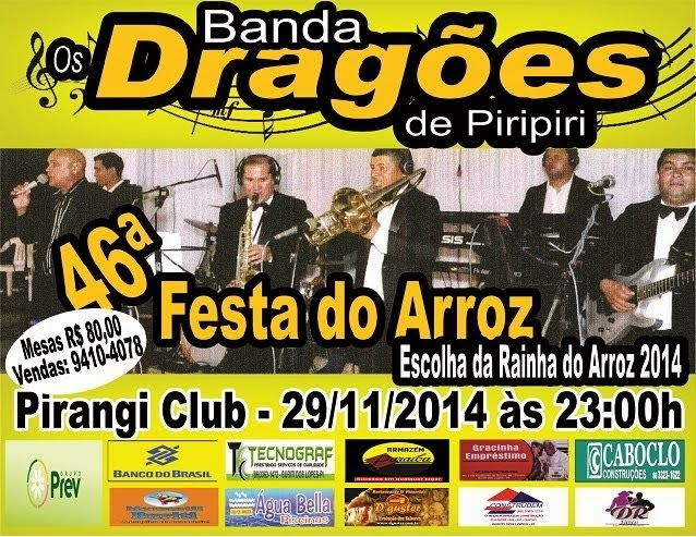 FESTA DO ARROZ EM BURITI DOS LOPES