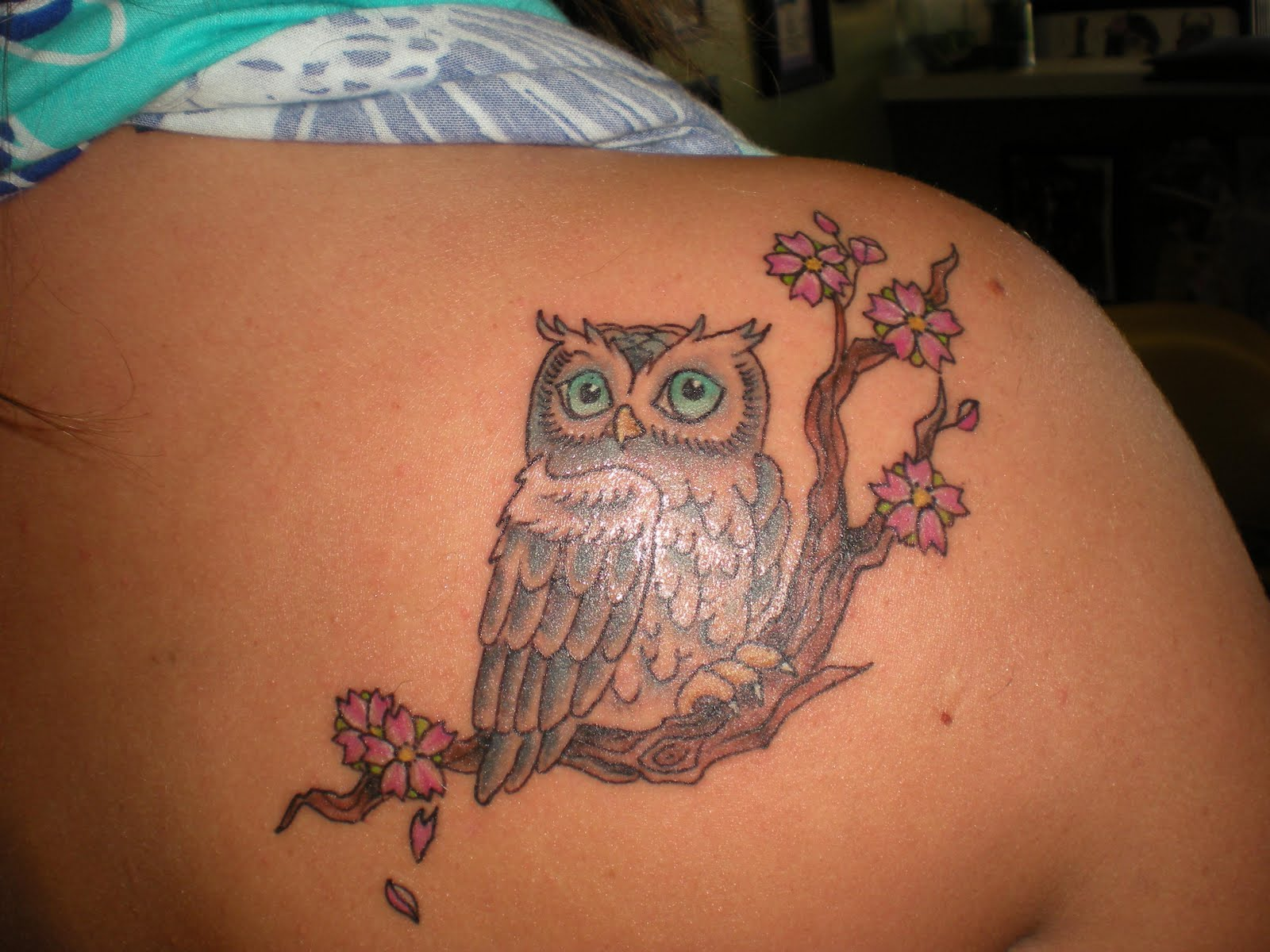 Owl Tattoos For Girls Beautiful Tattoos Art