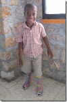 Sebastien, our sponsored child