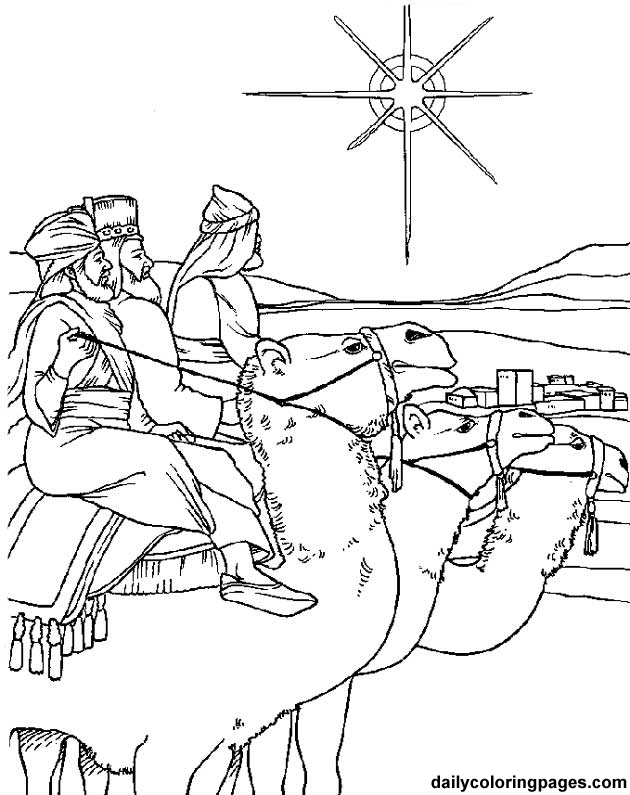 Catequese com carinho reis magos for Wise men coloring pages