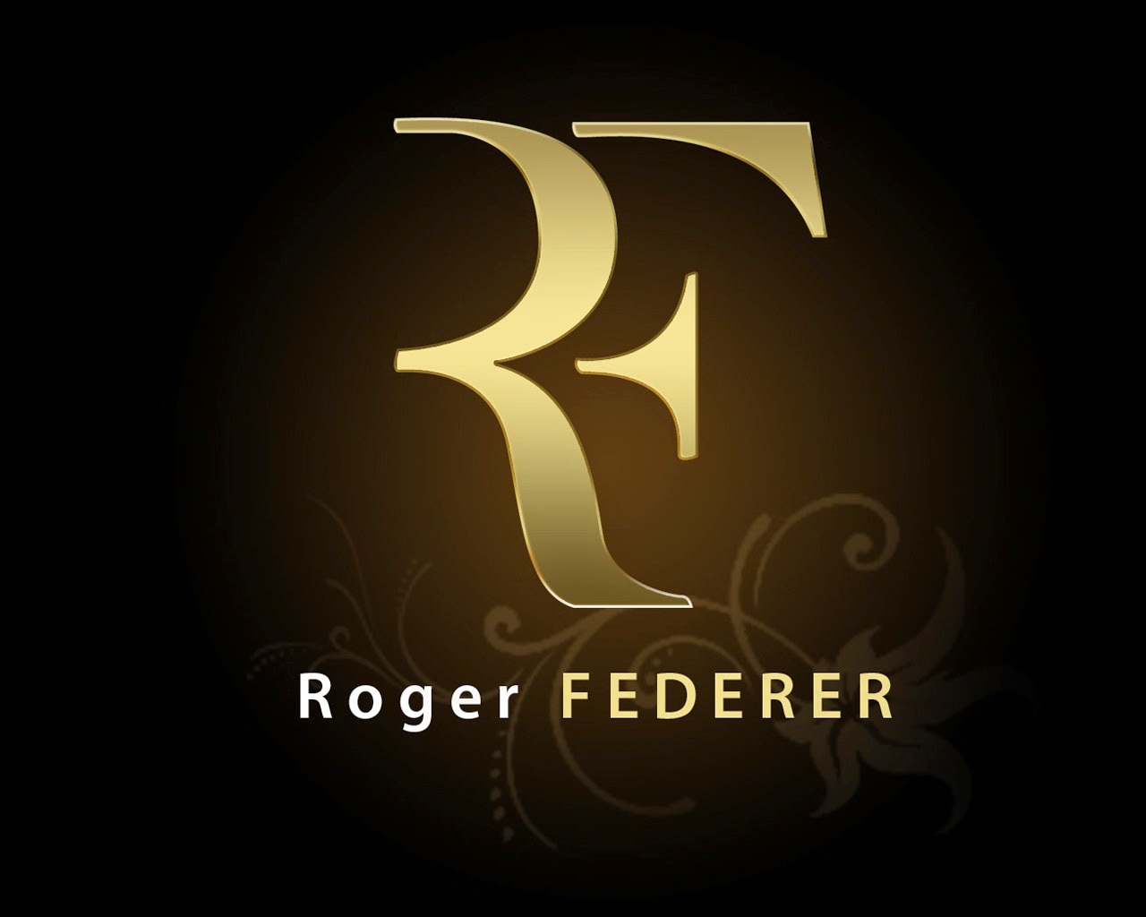 All About Logo: Roger Federer (RF) Logo