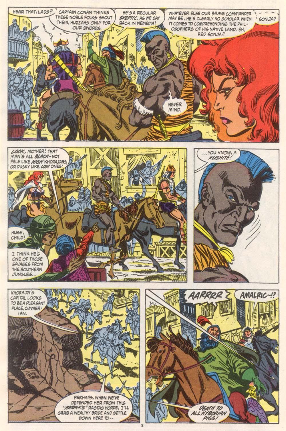 Conan the Barbarian (1970) Issue #246 #258 - English 3