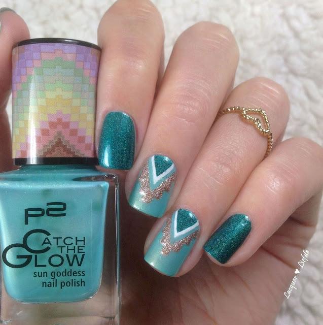 Aztec Nails P2 Colour Alike Sally Hansen
