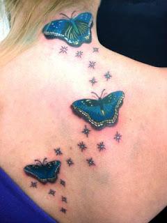 Fotos Tatuagens de Borboletas