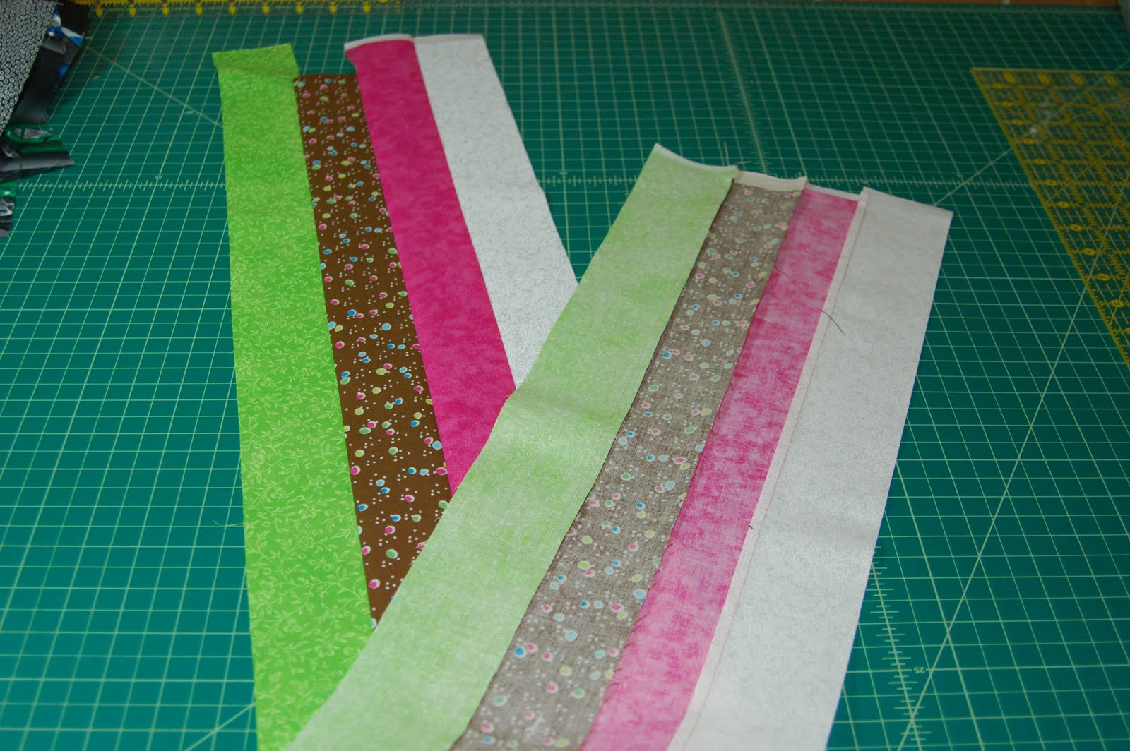 how to make straight seam binding