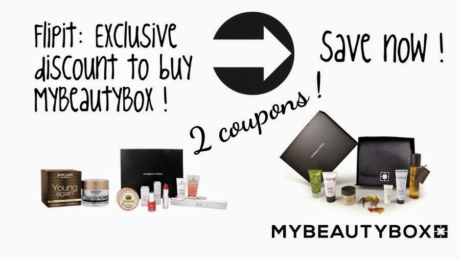 Flipit MyBeautyBox coupons on Fashion and Cookies