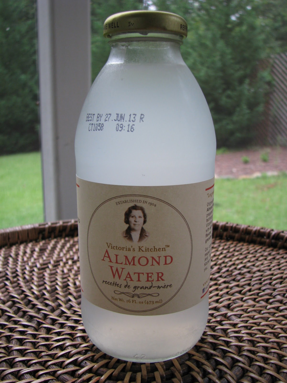 victorias kitchen almond water - Victorias Kitchen Almond Water