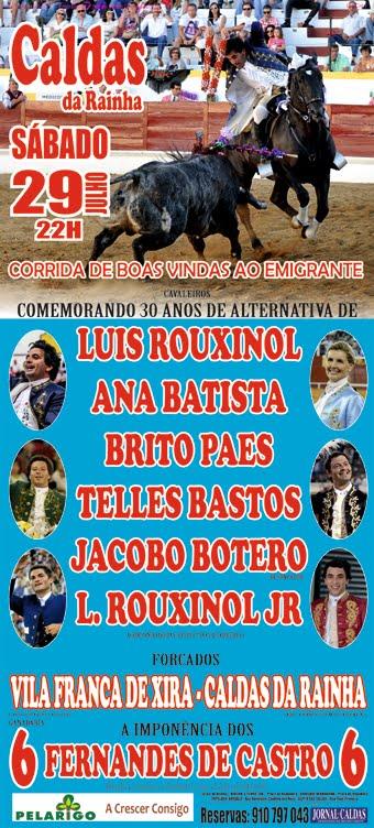 CALDAS DA RAINHA (PORTUGAL) 29-07-2014. CORRIDA A PORTUGUESA.