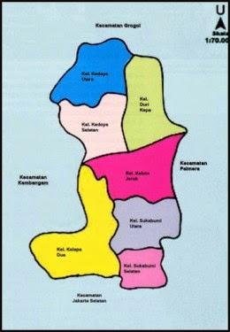 Alamat Kantor Kelurahan di Kecamatan Kebon Jeruk
