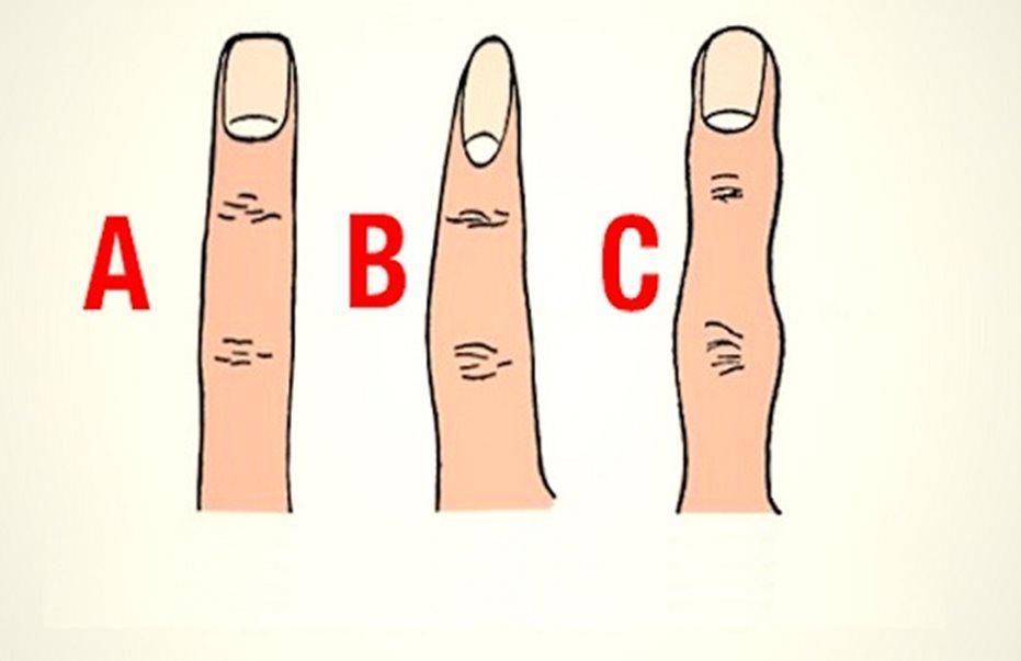 Το σχήμα των δαχτύλων δείχνει τον χαρακτήρα σου!
