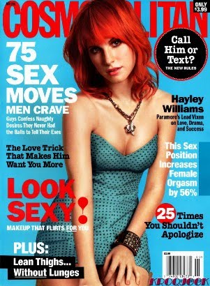 hayley williams cosmo cover 2011. hayley williams cosmo cover.