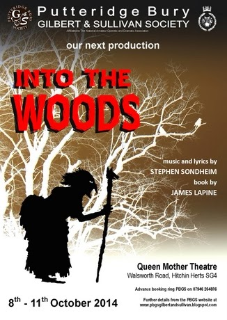 OCTOBER 8-11 2014: INTO THE WOODS