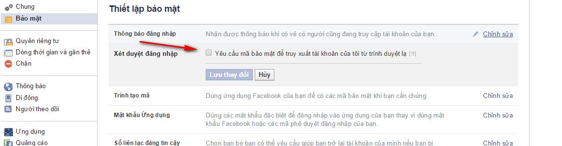cách bảo vệ tài khoản facebook khỏi hacker