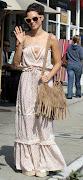 Jenna DewanTatum wearing House of Harlow 1960